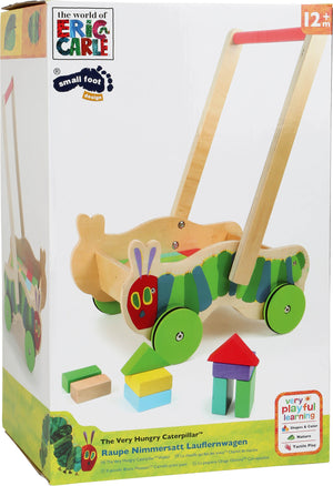The Very Hungry Caterpillar Baby Walker with Building Blocks