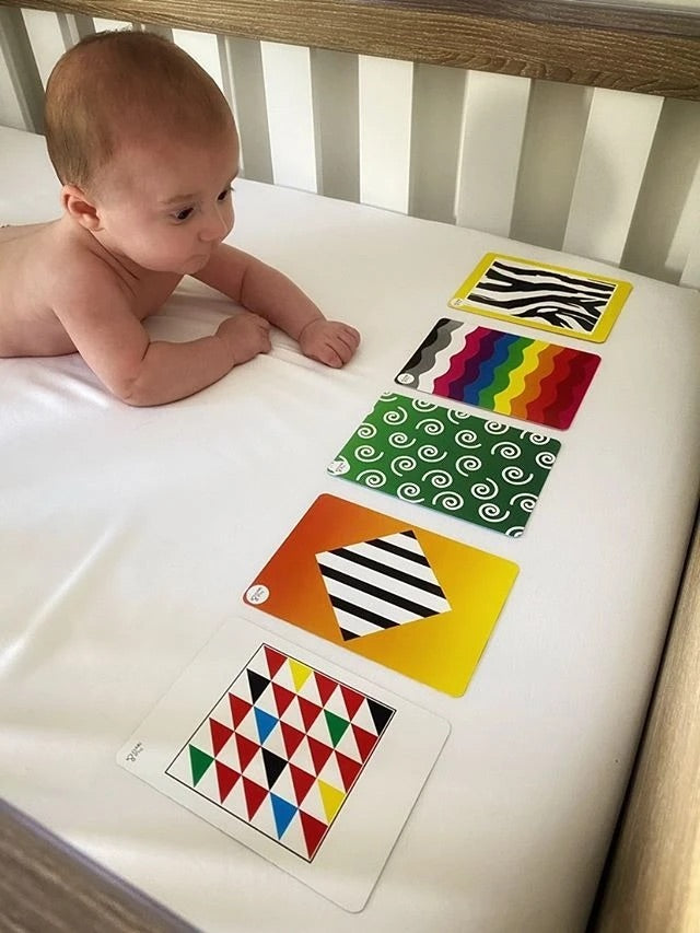 Load image into Gallery viewer, Baby Development Cards - Colour Sensory