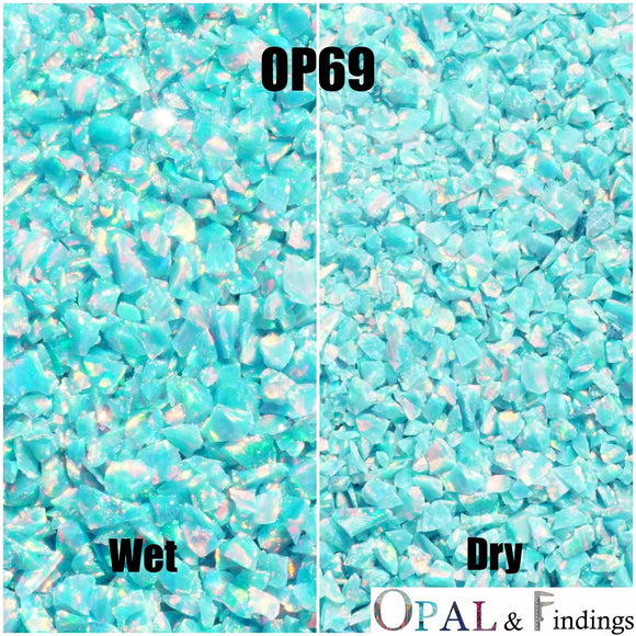 Crushed Opal - OP69 Spring Garden - Opal And Findings