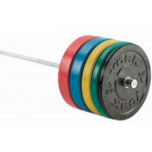Load image into Gallery viewer, YORK Barbell Economy Coloured Bumper Plates-Pairs