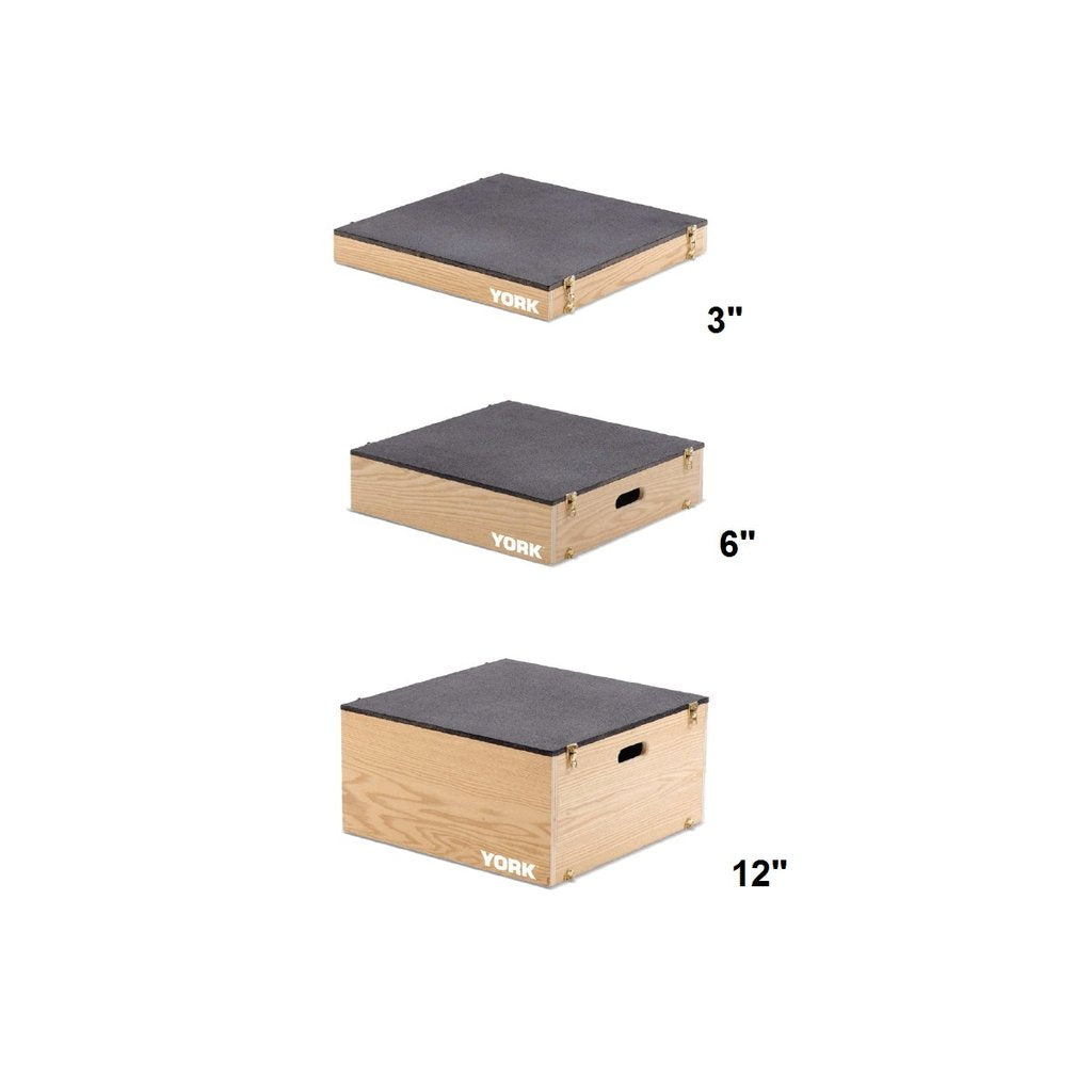 Wooden Stackable Plyo & Set-up Boxes