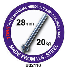 Load image into Gallery viewer, York 32110 Men's Needle Bearing Bar