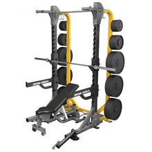 Load image into Gallery viewer, Hammer Strength HD Elite Half Rack (with storage)