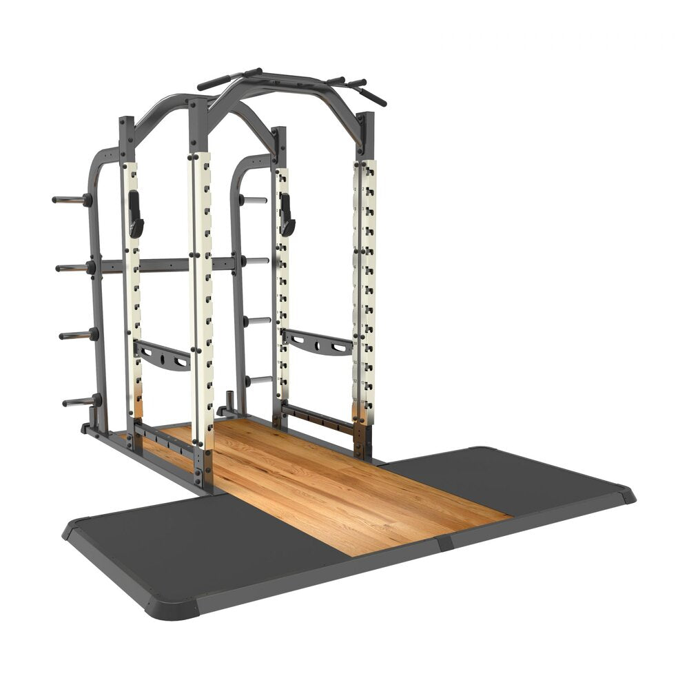 Premium Power Rack and Integrated Lifting Platform