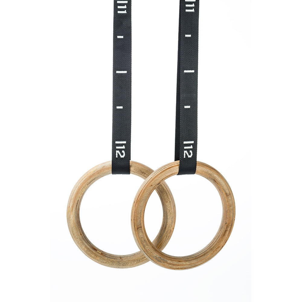 Professional Wooden Gymnastic Rings