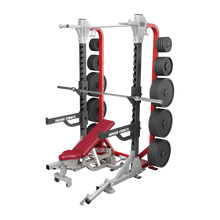 Load image into Gallery viewer, Hammer Strength HD Elite Half Rack