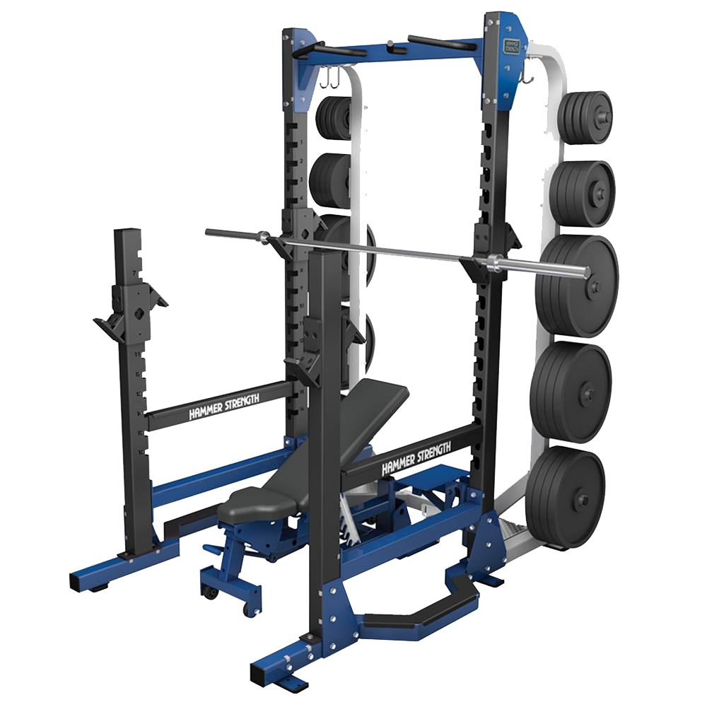 Hammer Strength HD Multi Rack (with storage)