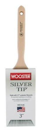 "Wooster Silver Tip® 3"" Soft Straight Paint Brush"