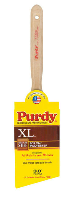 "Purdy XL™ Glide 3"" Medium Stiff Angle Paint Brush"