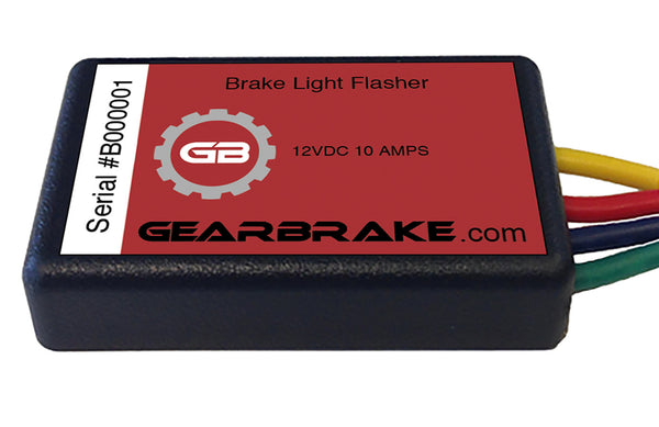 Brake Light Flasher Module - Universal Kit