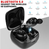 1 Pair Mini Bluetooth 5.0 Headset  Wireless Earphones Earbuds Cordless Headset Handsfree  Headphones
