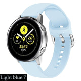 For Samsung Galaxy watch 46mm 42mm active 2 strap 20mm 22mm Gear s3 amazfit bip watchband Accessories Galaxy watch bracelet
