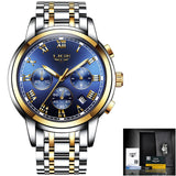 Relojes Hombre 2020 LIGE New Watches Men Luxury Brand Chronograph Male Sport Watches Waterproof Stainless Steel Quartz Men Watch