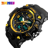 SKMEI Brand Luxury Military Sports Watches Men Quartz Analog LED Digital Clock Man Waterproof Dual Display Wristwatches Relogio