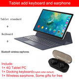 2020 Upgraded K20 Pro Fully connected 2 in 1 Tablet Laptop with Keyboard 128GB ROM Tablet Android 11.6 inch Tablet 4G gps