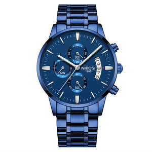 NIBOSI 2020 NewMen Watch Top Brand Fashion Watches Relogio Masculino Military Quartz Wrist Watches Hot Clock Male Sports
