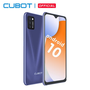 Cubot Note 7 Smartphone Triple Camera 13MP 4G LTE 5.5 Inch Screen 3100mAh Android 10 Dual SIM Card mobile phone Face Unlock