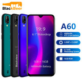 "Original Blackview A60 3G Smartphone 19:9 6.088"" Android Cellphone 4080mAh Battery 1GB 16GB ROM Mobile Phone 13MP+5MP Dual SIM"