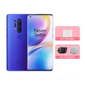 Global Rom OnePlus 8 Pro 5G Smartphone Snapdragon 865 6.78'' 120Hz Fluid Display 48MP Quad Cameras IP68 30W Wireless Charge