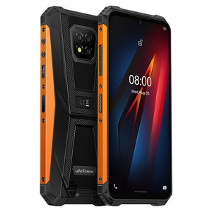 Ulefone Armor 8 Android 10 Rugged Mobile Phone NFC Helio P60 4GB+64GB Phone Octa-core 2.4G/5G WiFi 6.1'' Waterproof Smartphone