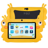 Children's Learning Tablet HD with silicone case USB children Education 7 inch tablet charger 1 GB 16 GB cadea