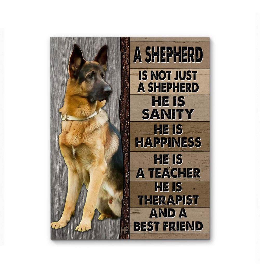 A German Shepherd Dog EZ23 0602 Canvas