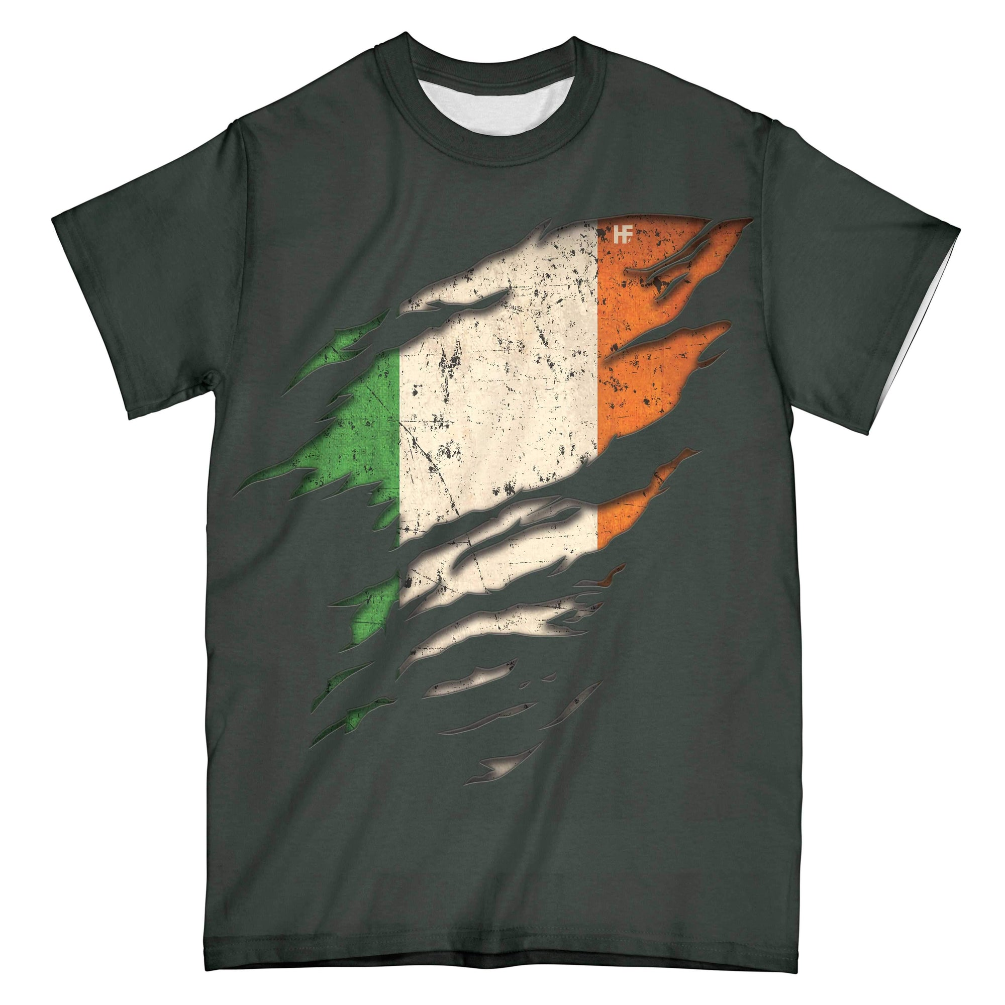 American Grow With Irish Roots EZ16 1901 All Over Print T-Shirt