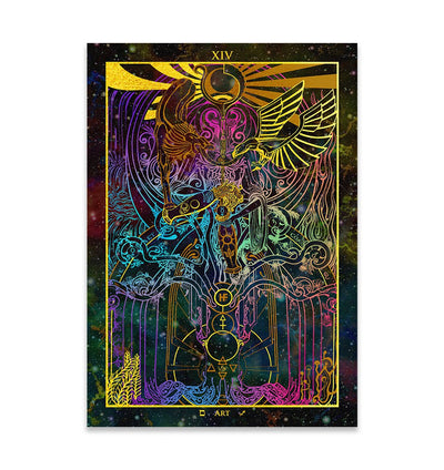 Art - Alchemy - Temperance Arcana Tarot Art EZ05 2909 Canvas