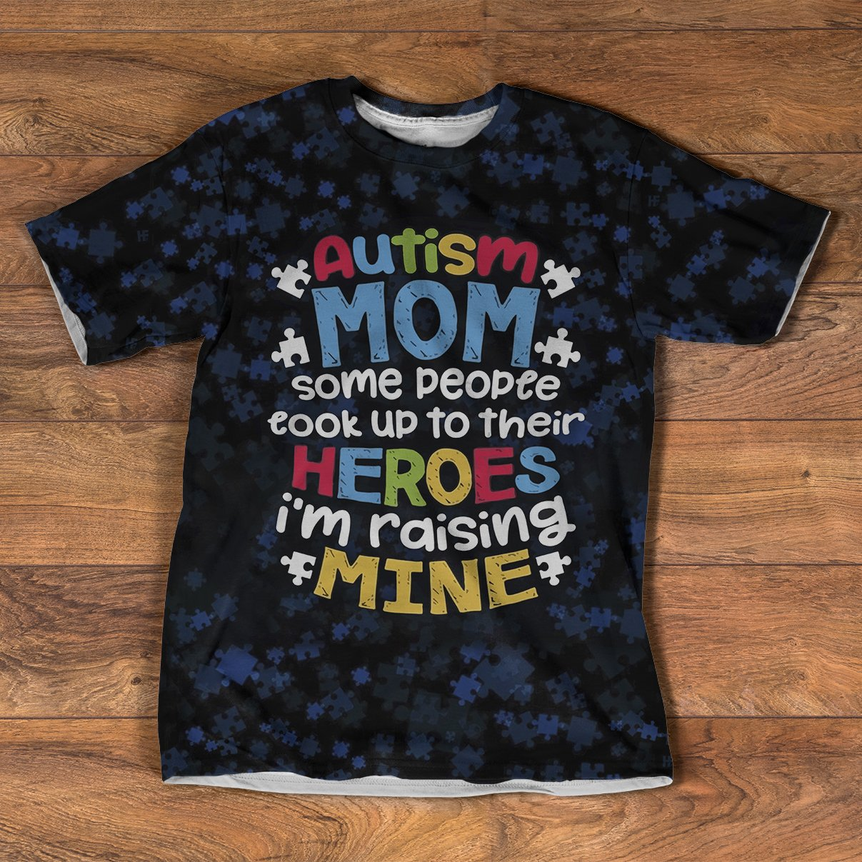 Autism Mom EZ16 2108 All Over T-Shirt