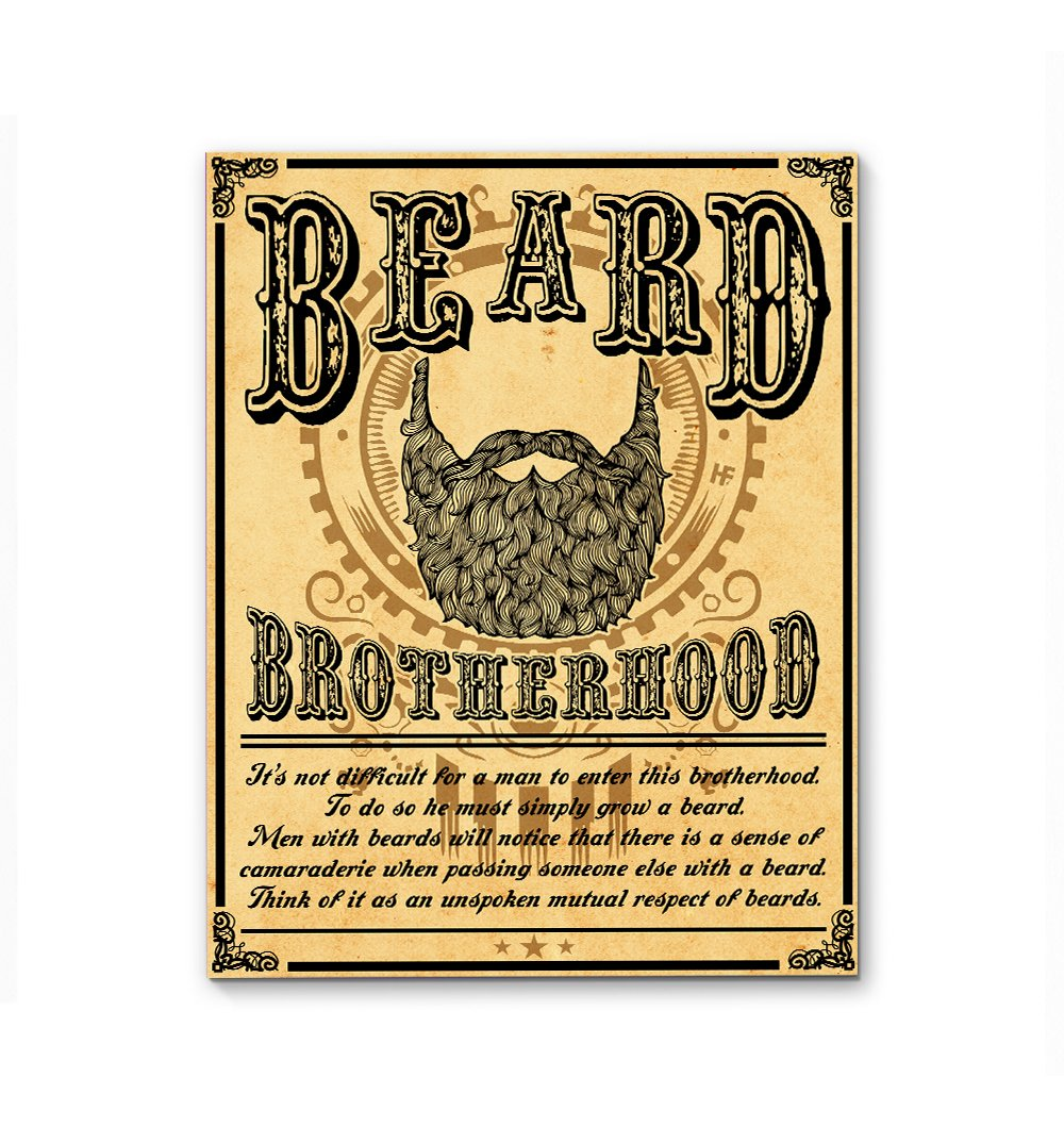 Beard Brotherhood EZ16 2112 Canvas