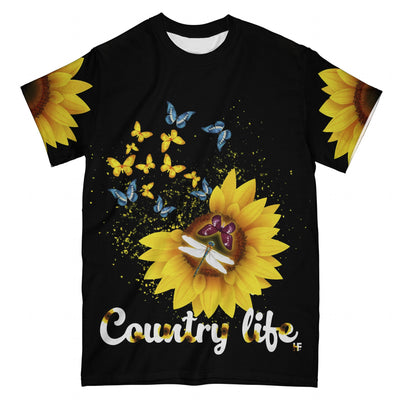 Butterfly Country Life EZ10 2503 All Over T-Shirt