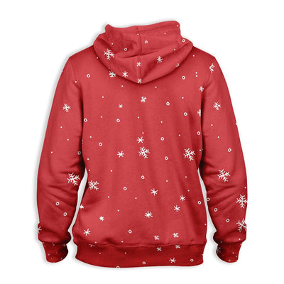 Cat Have Yourself A Meowy Little Christmas EZ25 1310 All Over Print Hoodie