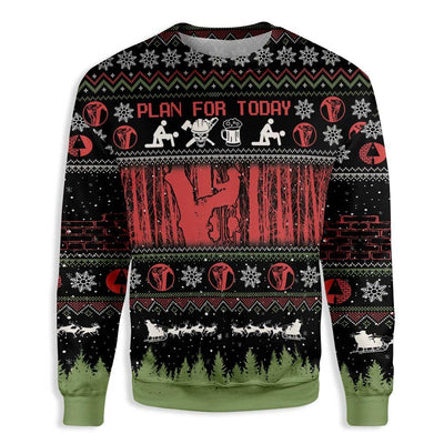 Christian Arborist Christmas EZ16 0210 All Over Print Sweatshirt