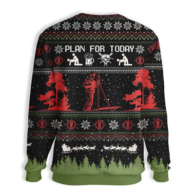 Christian Surveyor Christmas EZ16 0210 All Over Print Sweatshirt