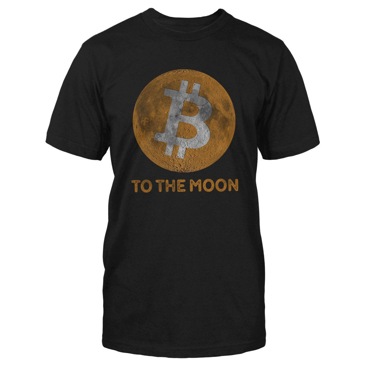 Bitcoin To The Moon Cryptocurrency EZ20 0902 Classic T-shirt