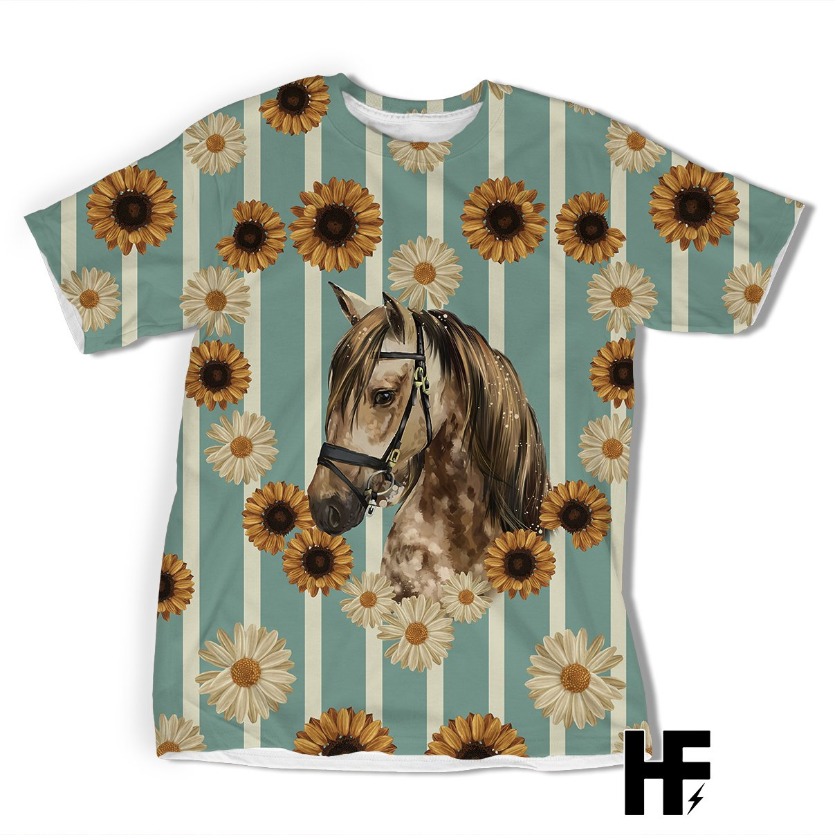 Country Horse EZ05 1603 All Over T-shirt