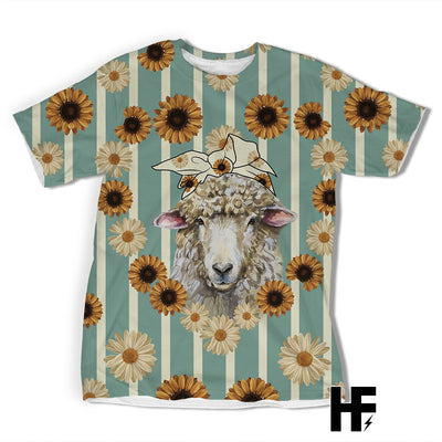 Country Sheep EZ05 1603 All Over T-shirt