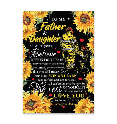 DAUGHTER Never Lose EZ15 2509 Canvas