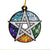 Element Pentacle Be Kind Wicca EZ20 2711 Ornament
