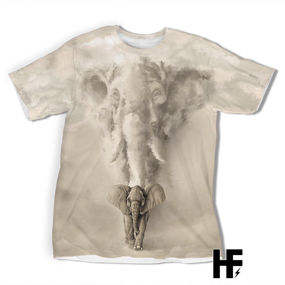 Elephant Father & Son EZ07 1003 All Over T-Shirt