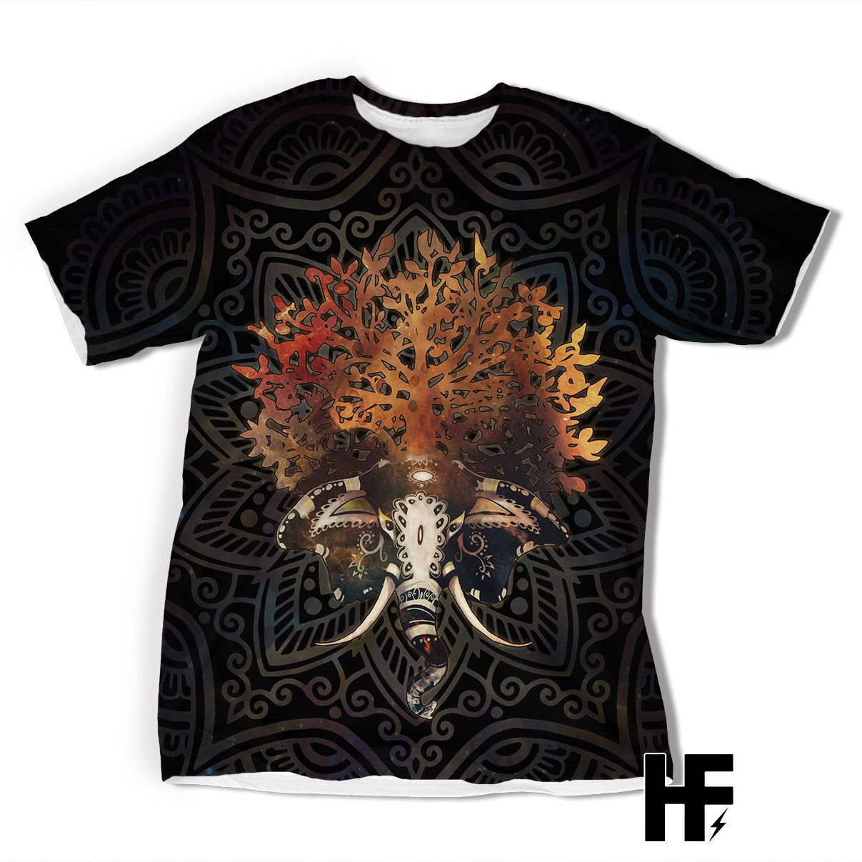 Elephant Tree of Life EZ07 1303 All Over T-Shirt