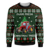 FARM FRESH CHRISTMAS SWEATER EZ15 1510 All Over Print Sweatshirt