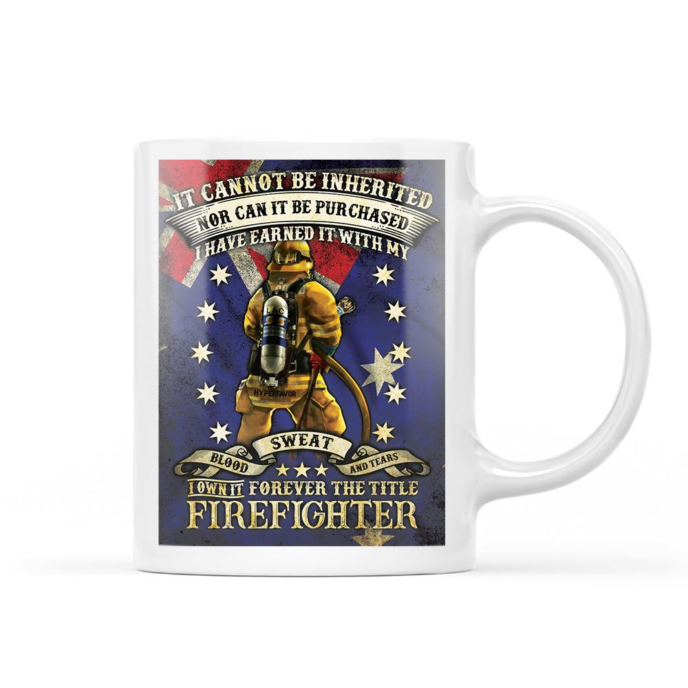 Firefighter EZ23 1012 White Mug