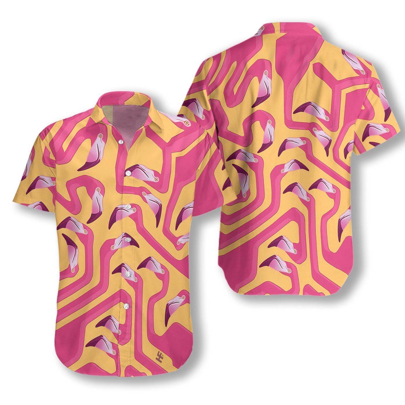 Flamingo 19 EZ23 2610 Hawaiian Shirt
