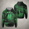 Galaxy Cat And Occult Tree Wicca EZ19 1910 All Over Print Hoodie