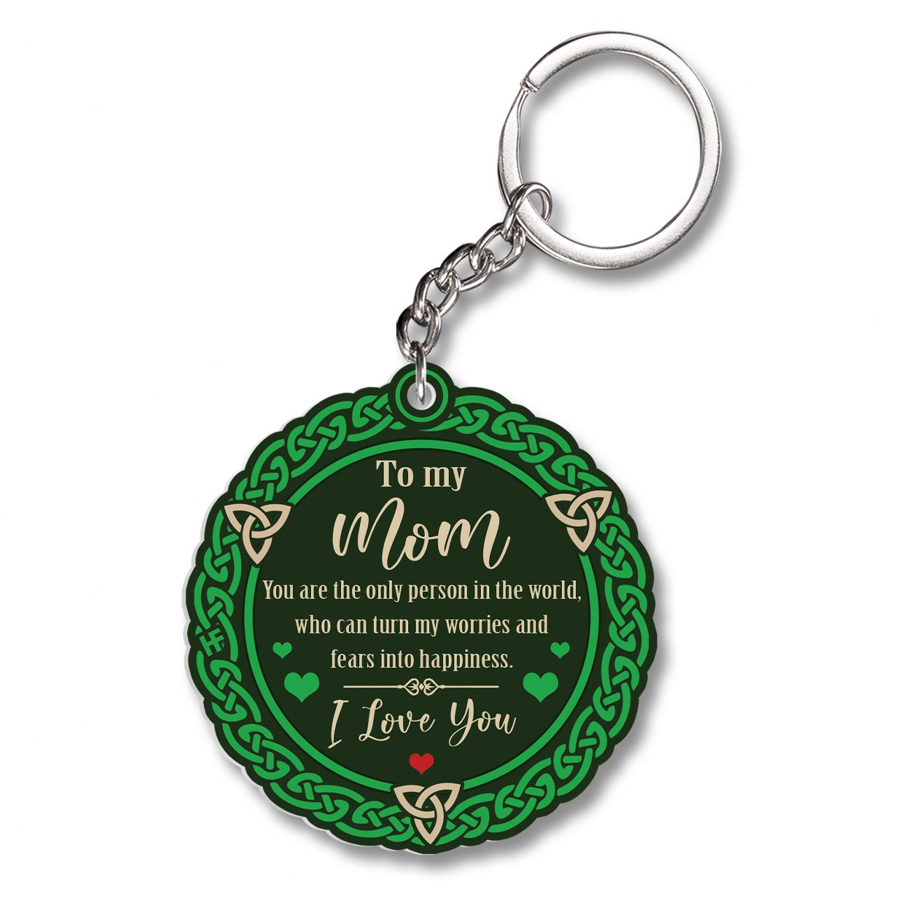 Gift For Mother's Day Ireland To My Mammy EZ12 1702 Keychain
