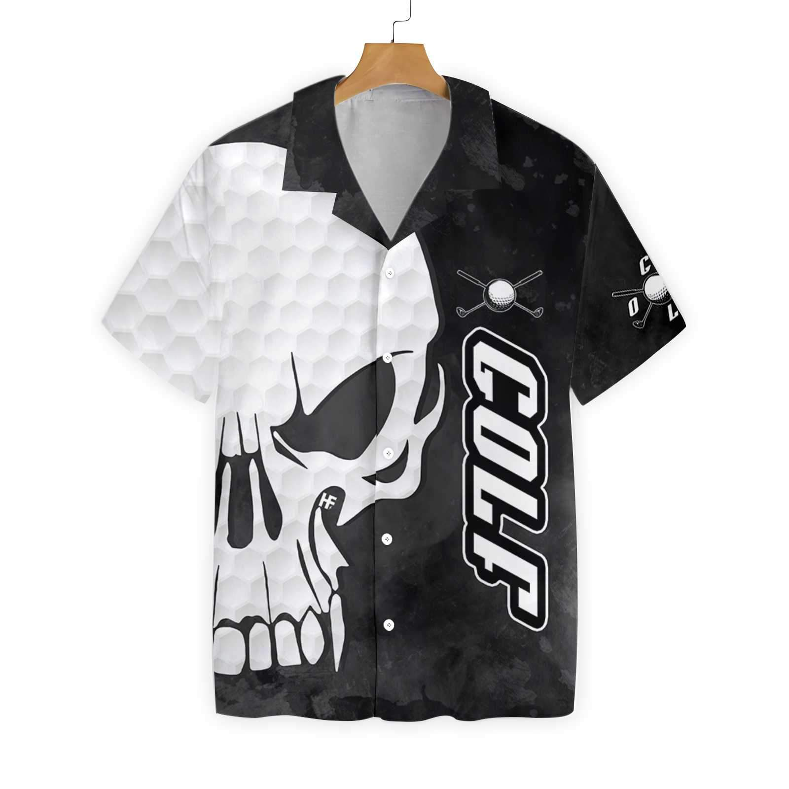 Golf And Skull EZ24 0202 Hawaiian Shirt