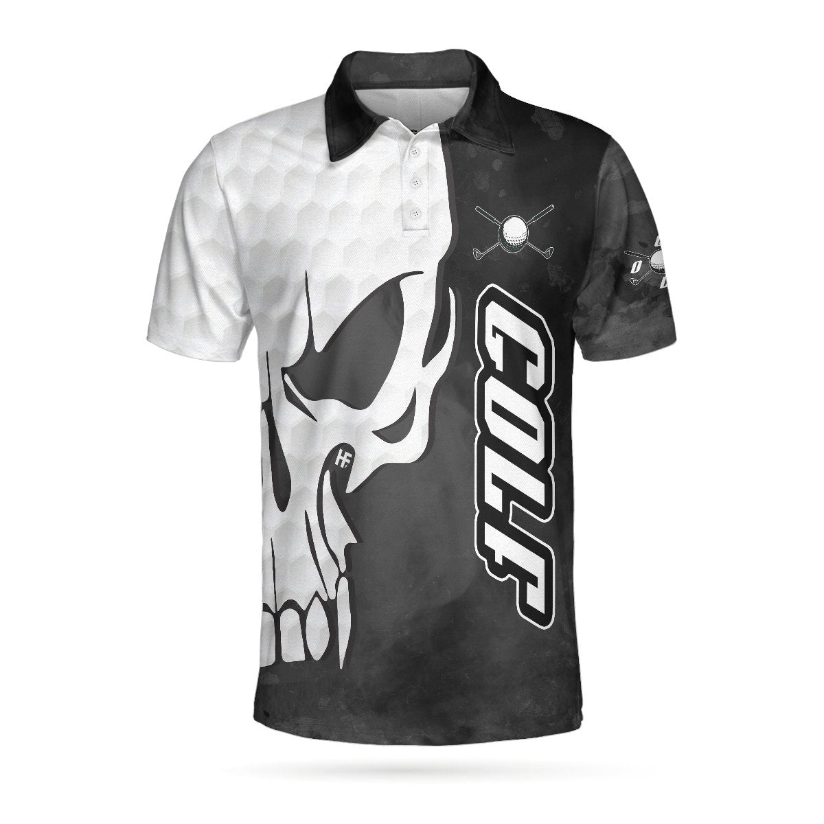 Golf And Skull EZ24 2903 Polo Shirt