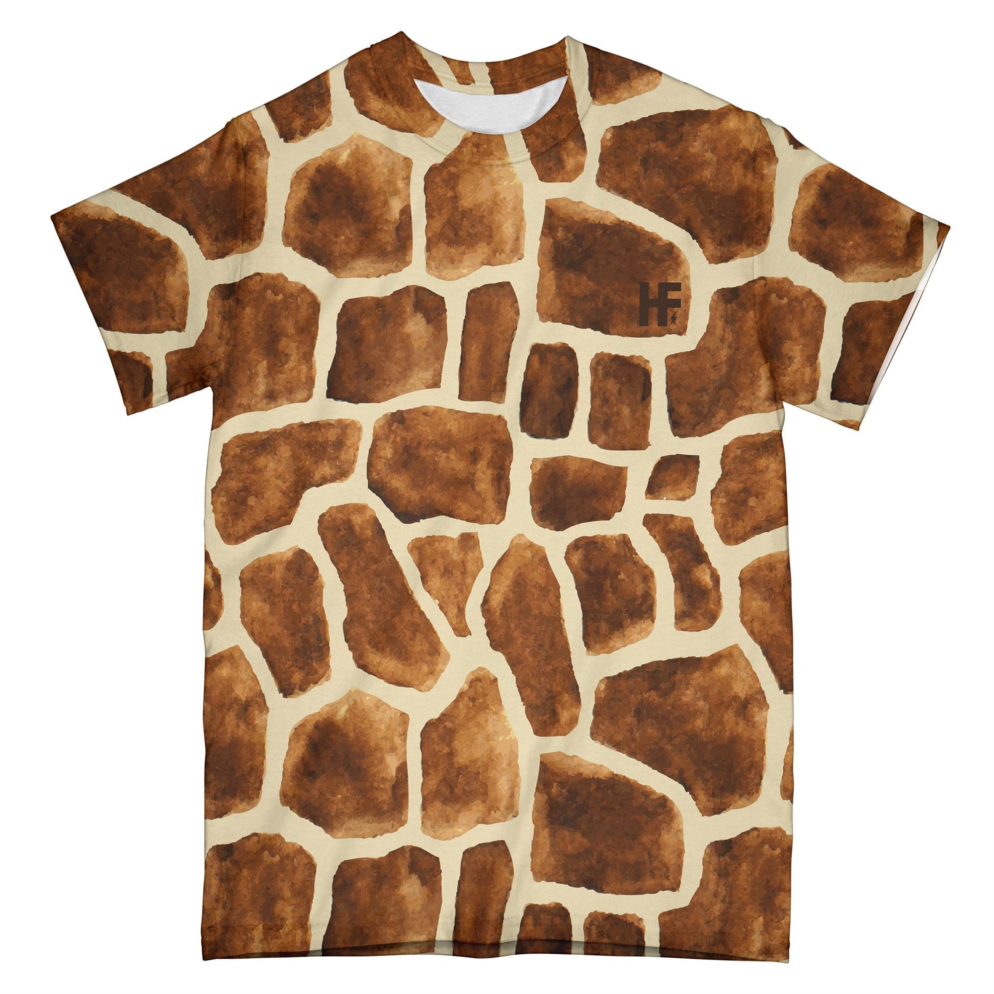 Halloween Giraffe Pattern Costume EZ02 1009 All Over T-shirt