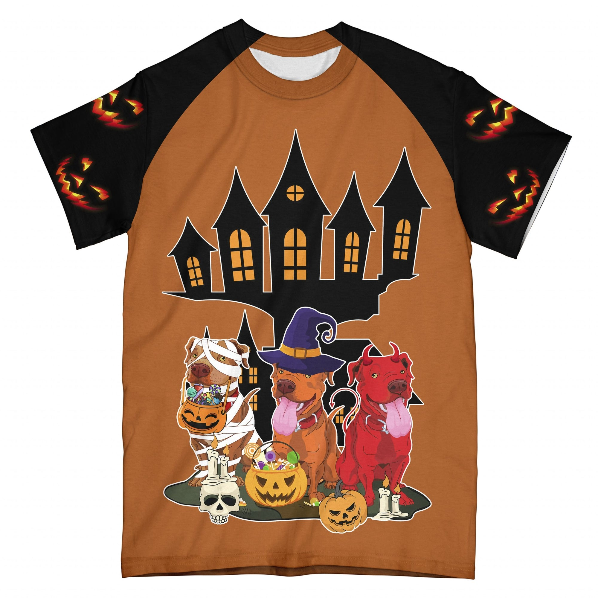 Halloween Pumpkin Scary EZ09 1808 All Over T-Shirt